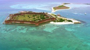 Fort Jefferson in the Dry Tortugas National Park