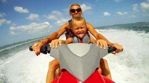 Ride a Jet Ski in Key West with Fury's Jet Ski Adventure.