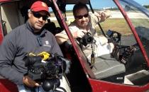 Steve and Rob in Chopper
